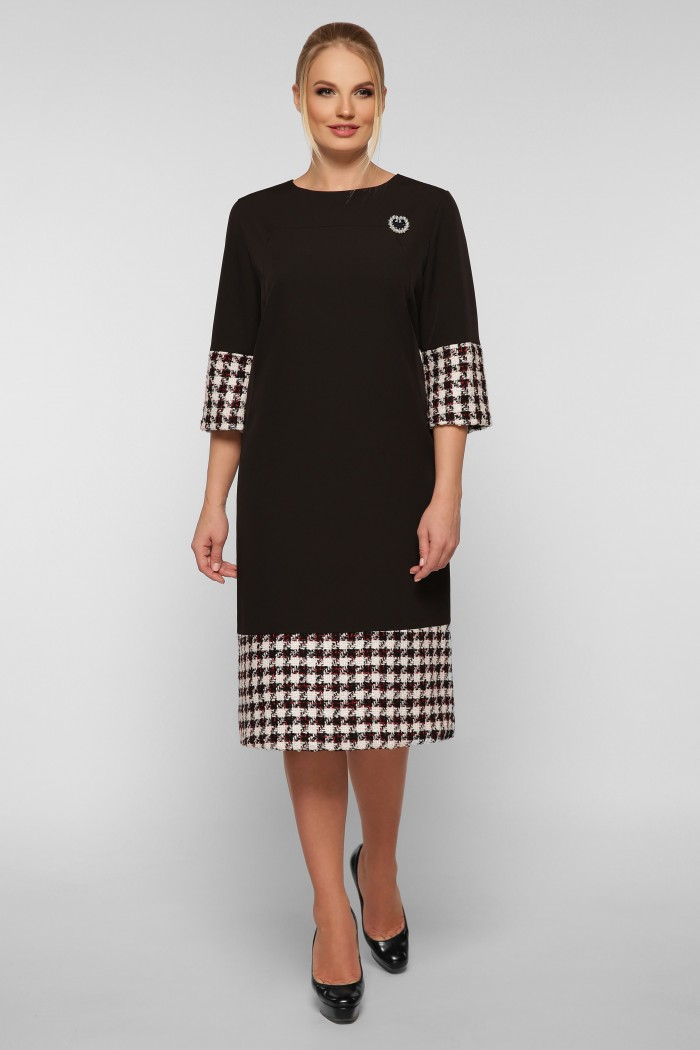 Платье Тереза черное