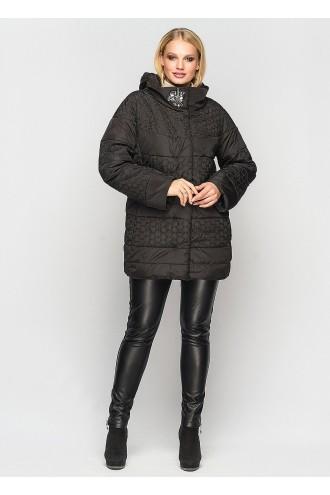 Женская демисезонная куртка Индиго черная