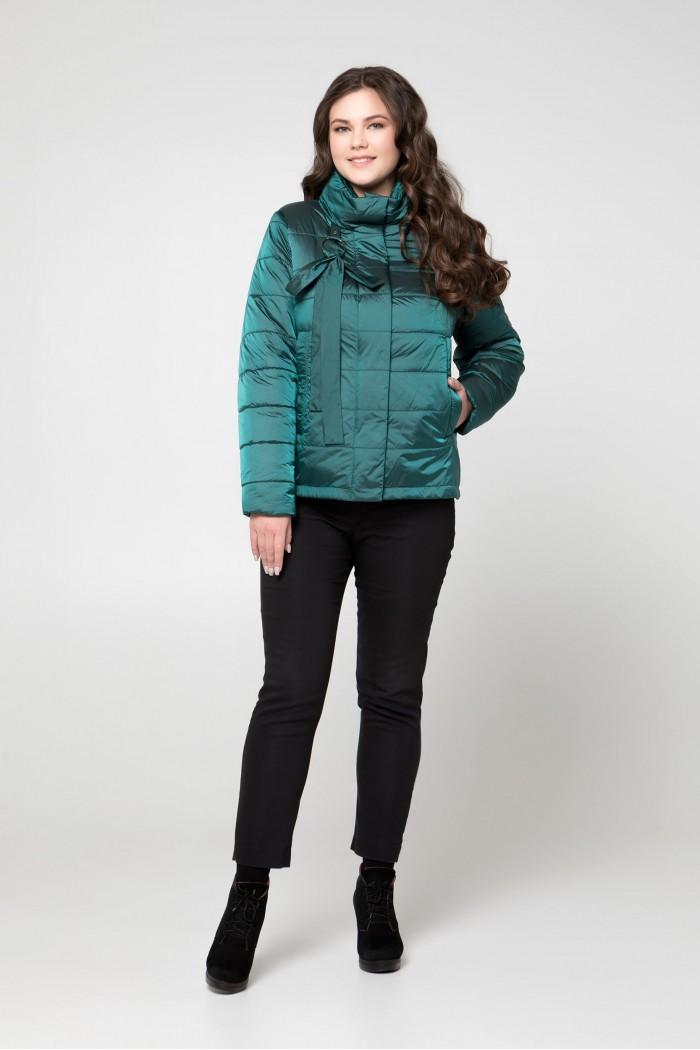 Женская демисезонная куртка Саммер изумруд
