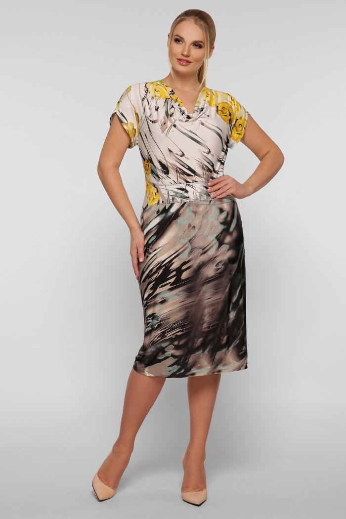 Платье Дания абстракция