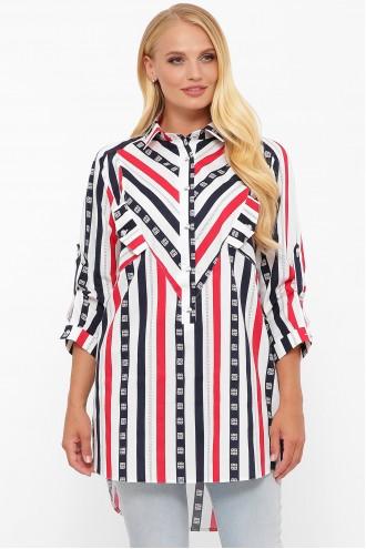 Рубашка Стиль полоса