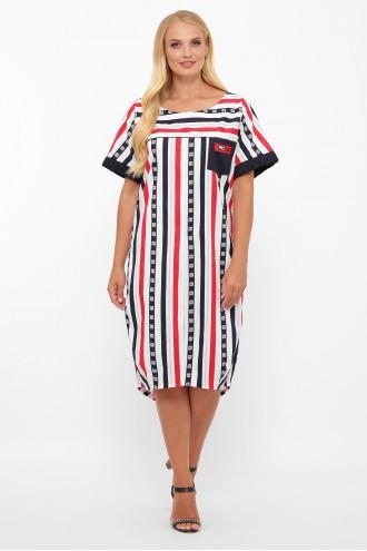 Платье Бриджит полоса