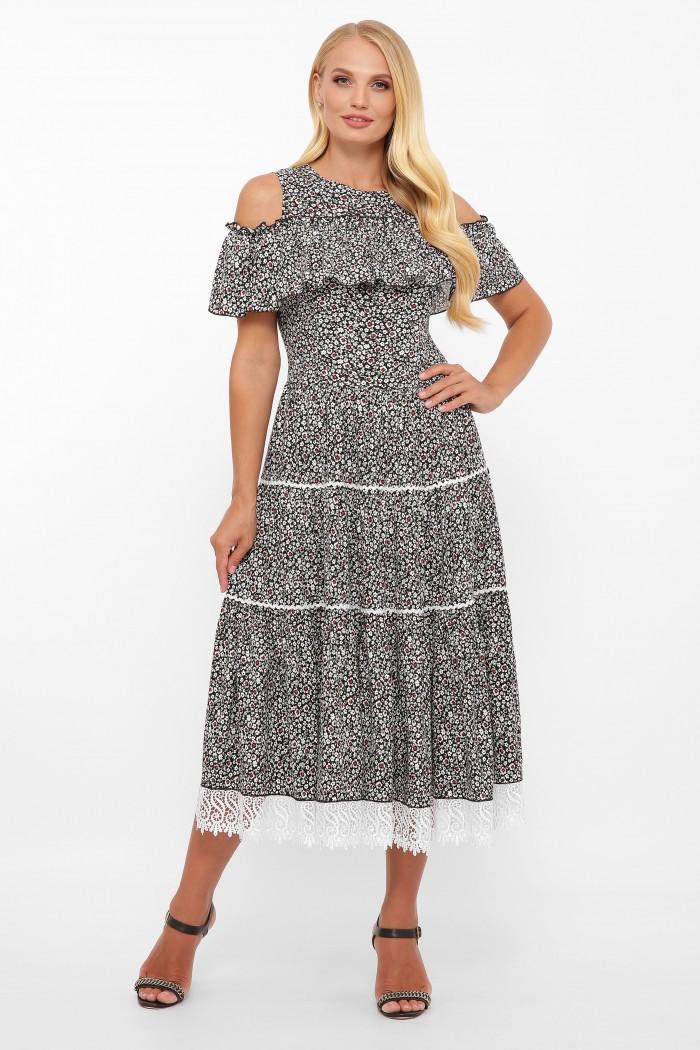 Платье Таяна фиалка