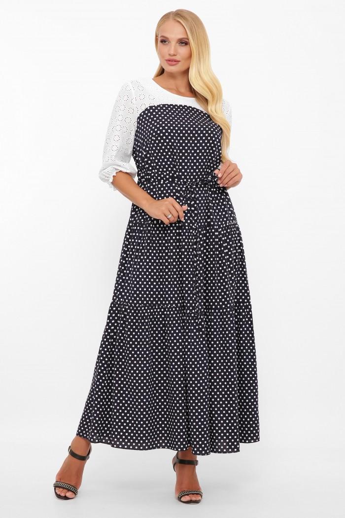 Платье Росава горох