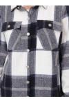 Теплая рубашка фланель Слава деним