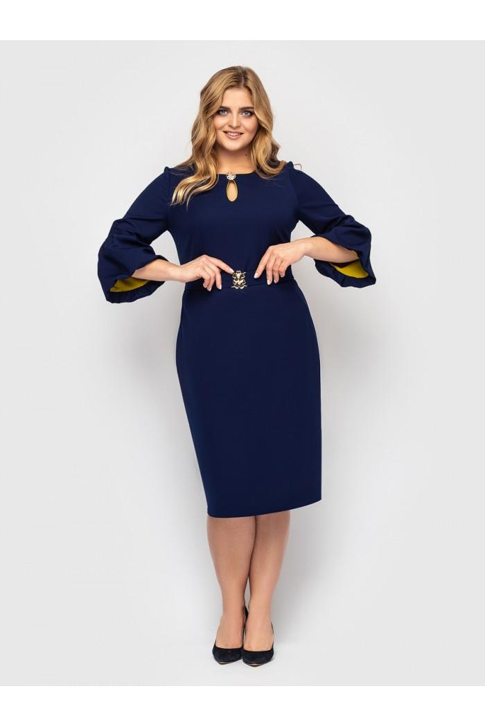 Платье женское Пари синее