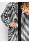 Женское пальто Ксюша гусиная лапка