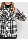 Куртка фланелевая Сандра деним
